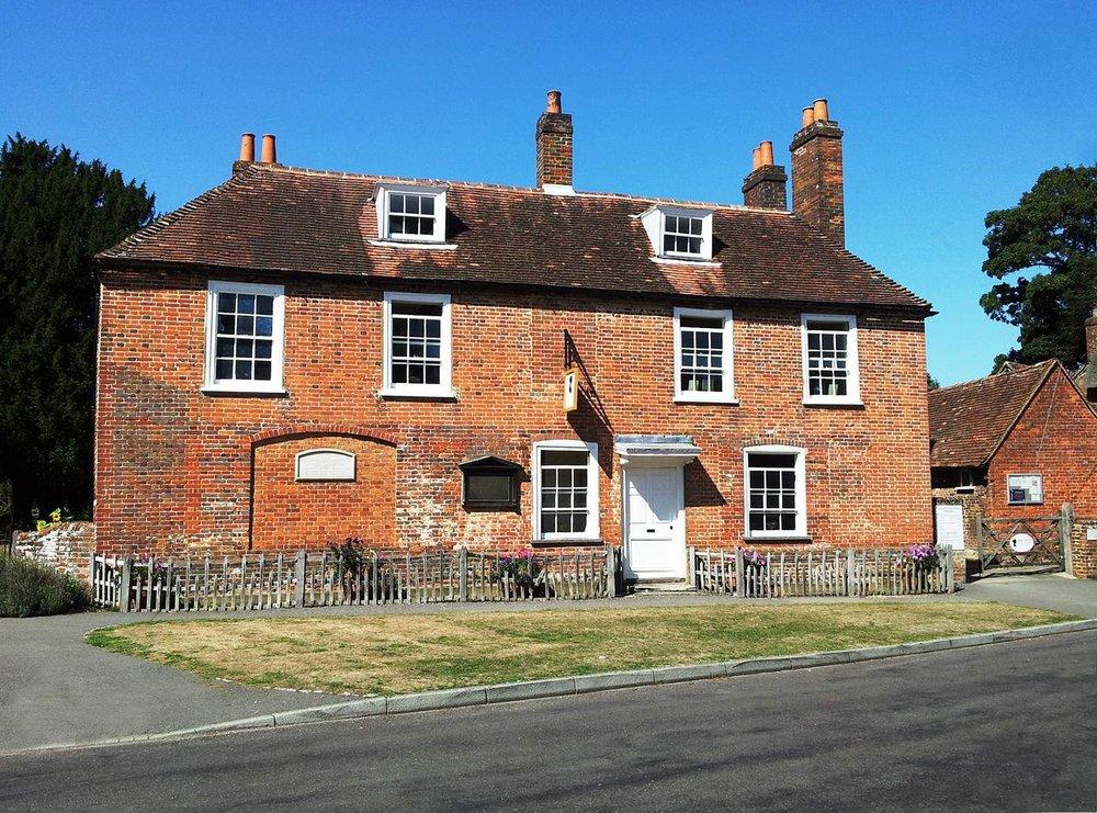 Chawton Cottage, now Jane Austen's House Museum. Photo copyright: Julia B Grantham
