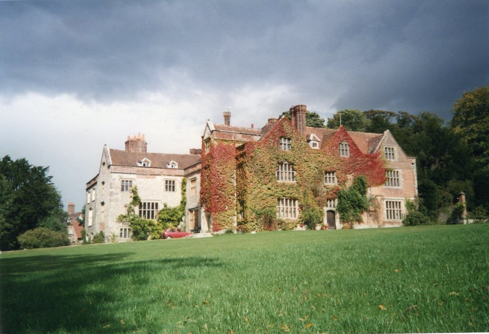 Chawton House in 1987, when I lived there with my family.  Photo copyright Caroline Jane Knight.