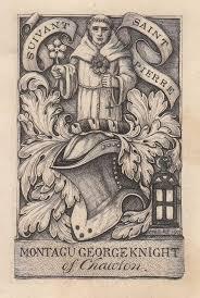 Montagu Knight (13th Squire of Chawton) bookplates