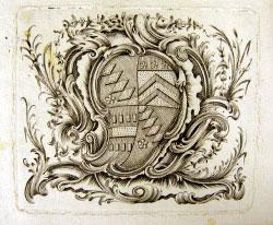 Thomas Knight (9th Squire of Chawton)bookplate