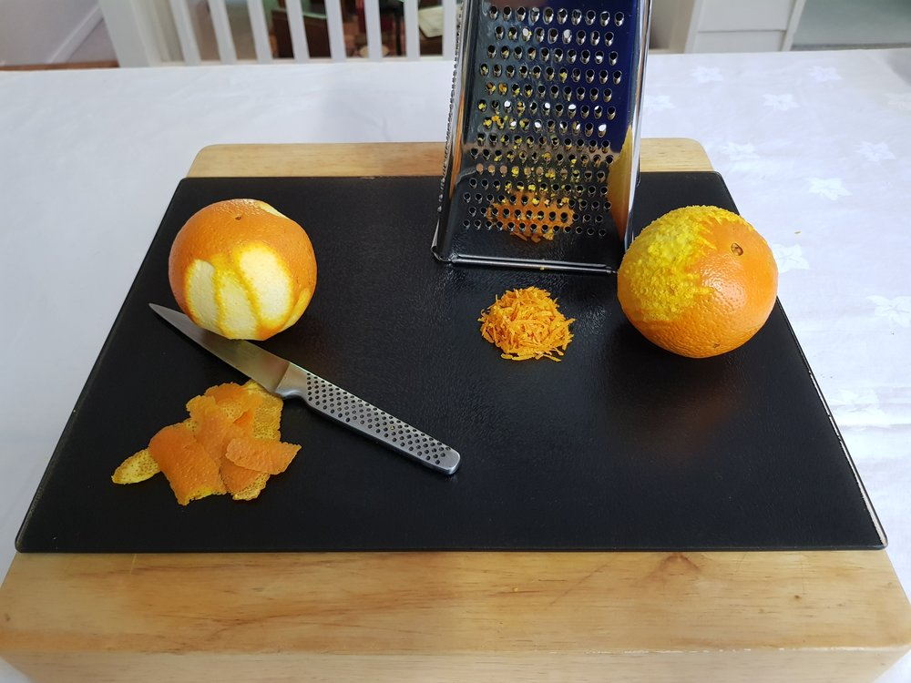 Step 3: Prepare the oranges