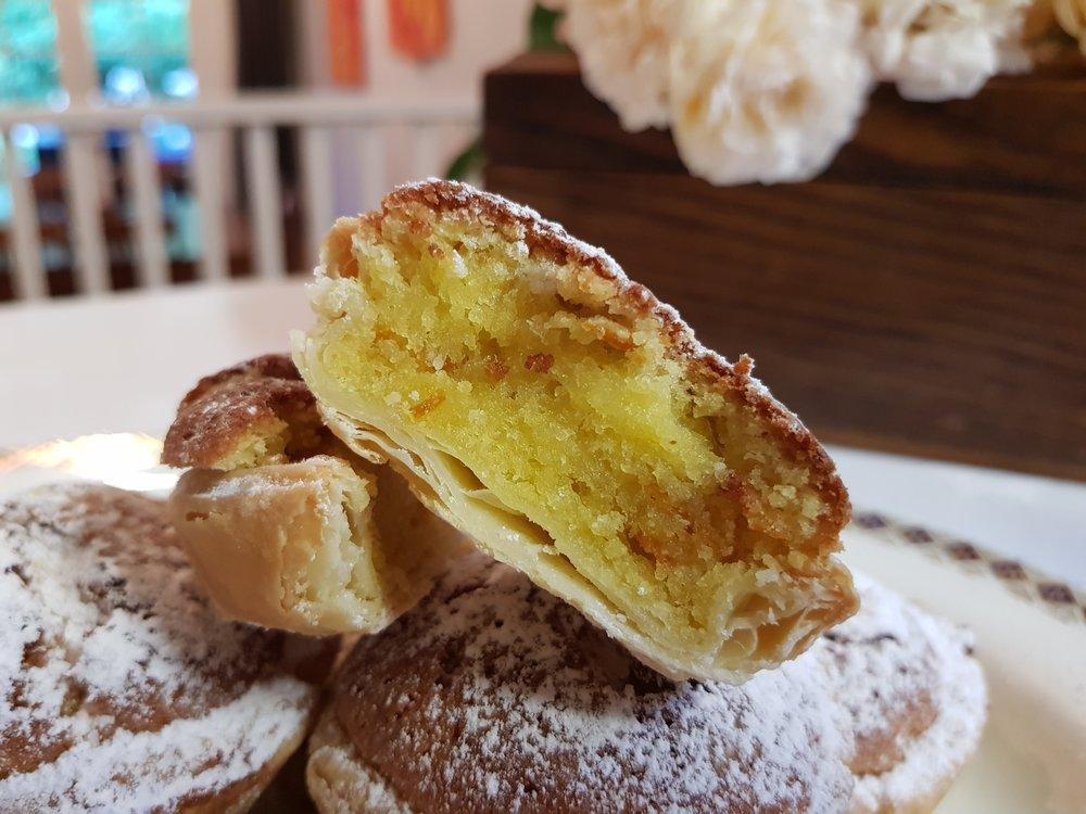 Martha's Orange Almond Cheesecakes