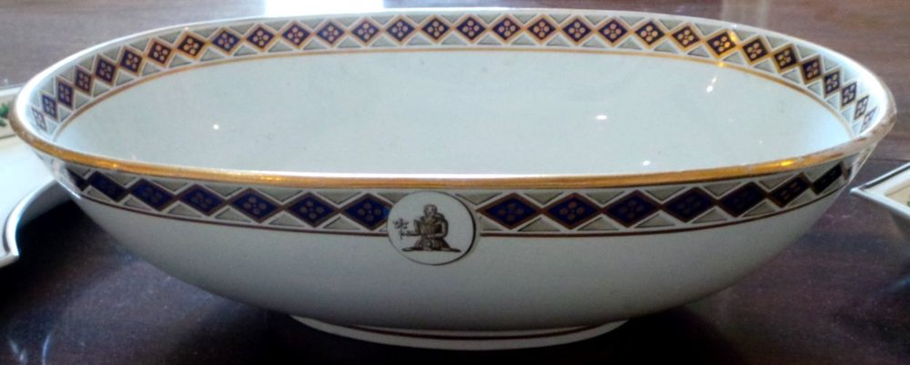 Edward Austen Knight's dinner service, made by Wedgwood 1813