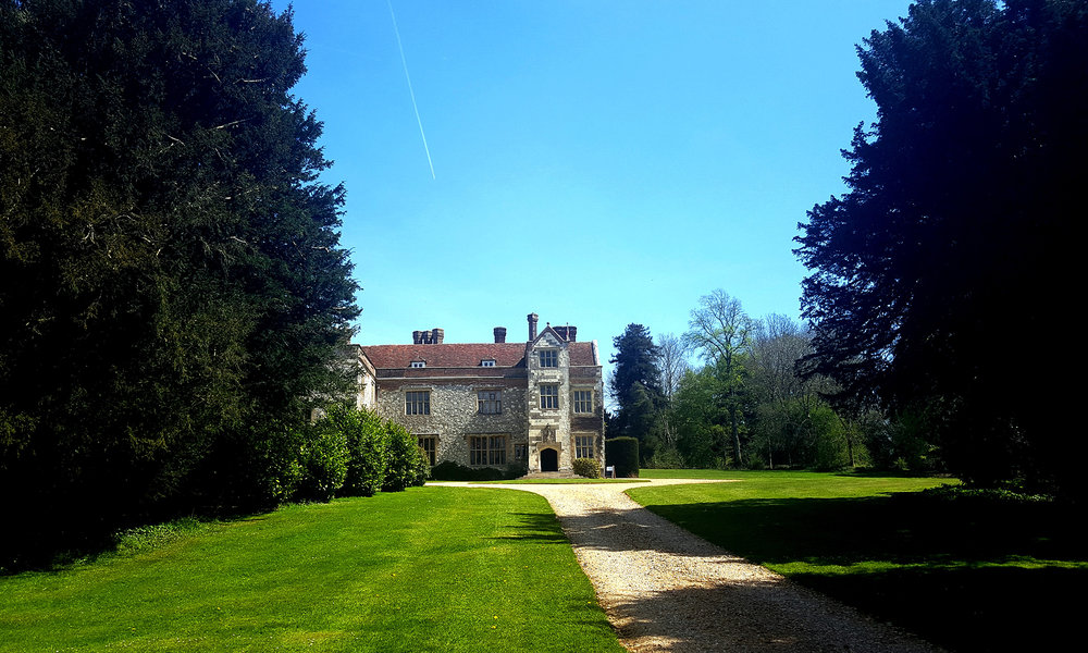 Chawton House in June