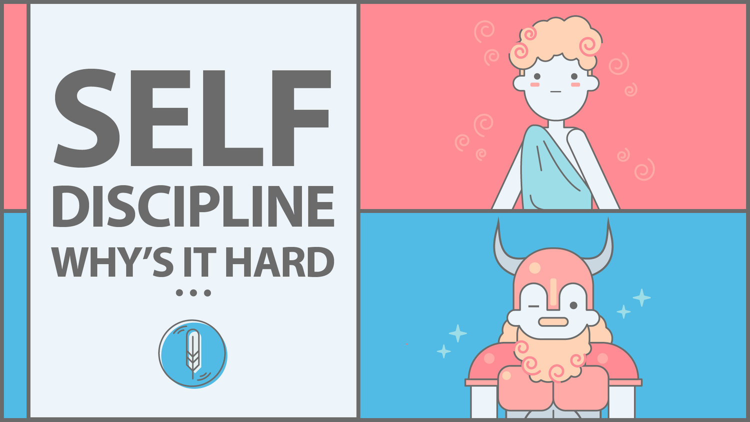 Why Self-Discipline is so Hard — Freedom in Thought