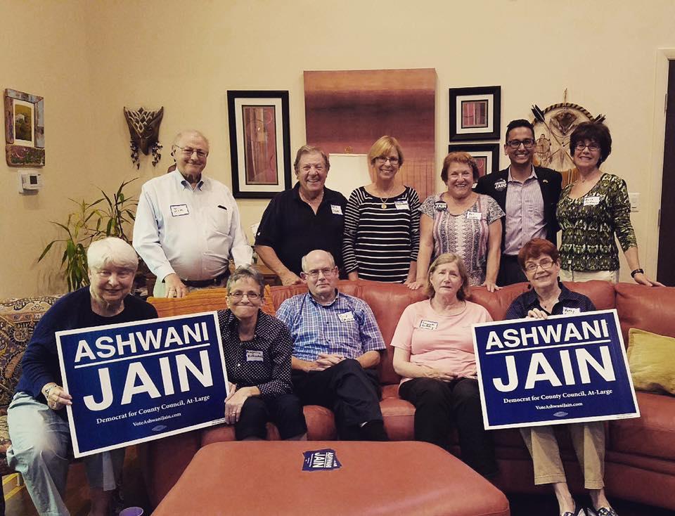 Ashwani meet-and-greet in Rockville