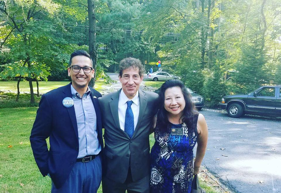 Ashwani with Congressman Raskin and State Senator Lee