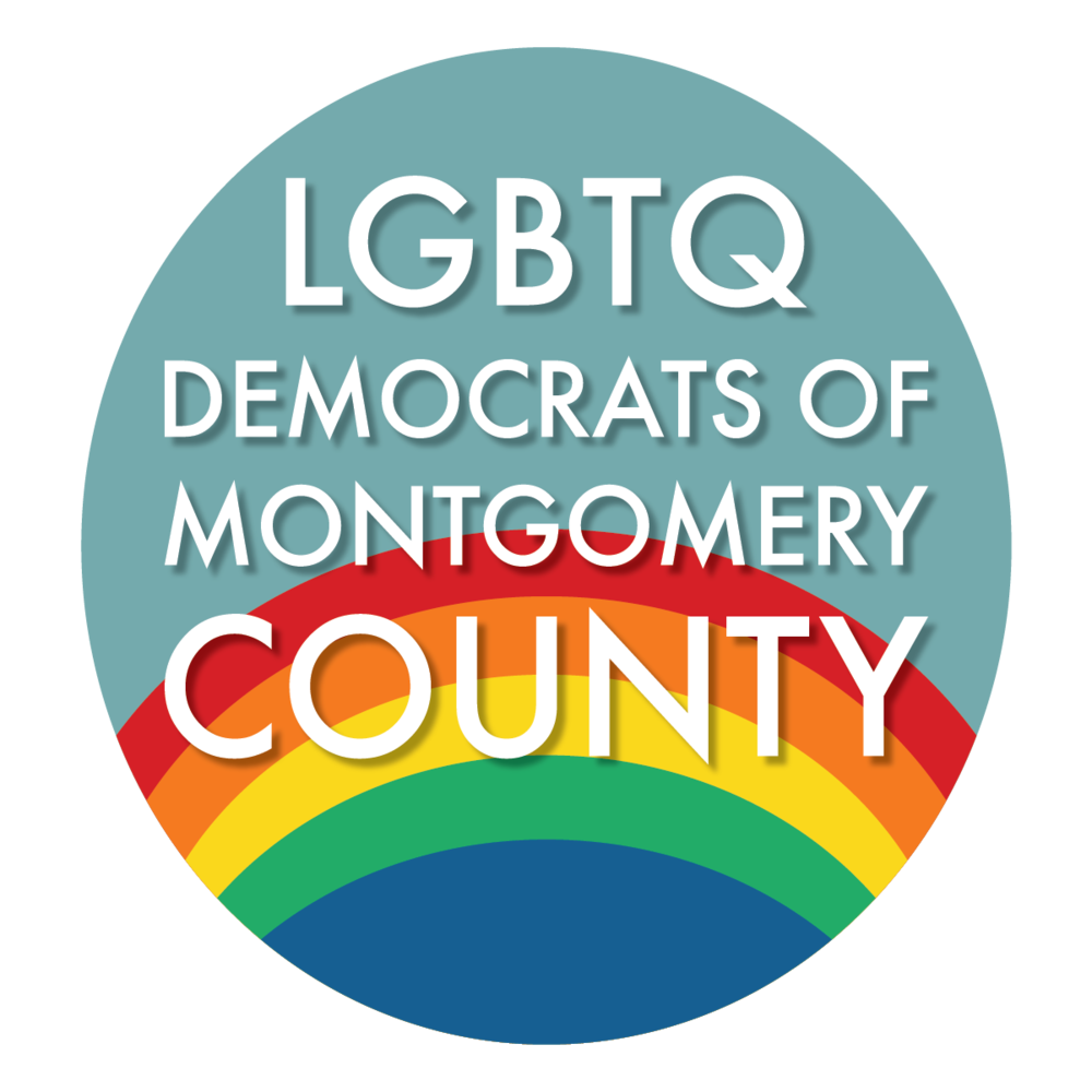 LGBTQ Democrats of Montgomery County Endorsement Seal