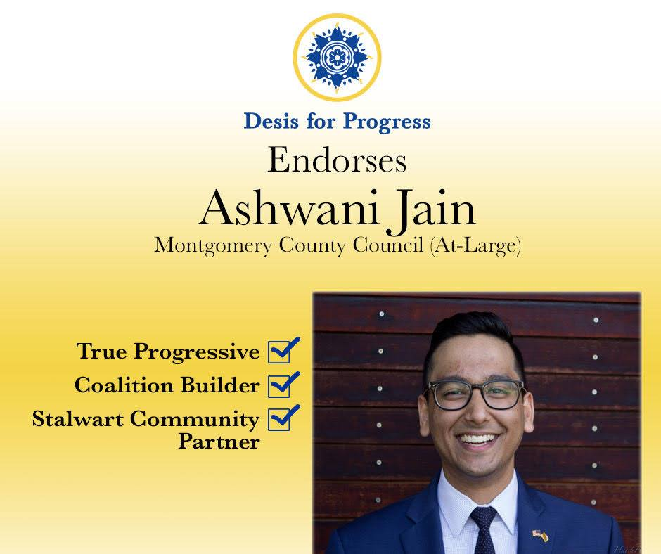 Desis For Progress Endorsement