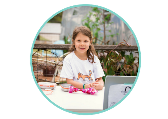 Start-Up Kids Club helped me start a business doing something I really love to do. It made me feel more confident around people.    -Hannah B. Hannah and Co