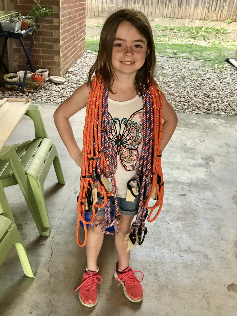 Ameila - 8 yr. old, Founder of Loco Leashes, student at Eanes Elementary Amelia was mentored by Britney Schielack, co-founder of the Platform..