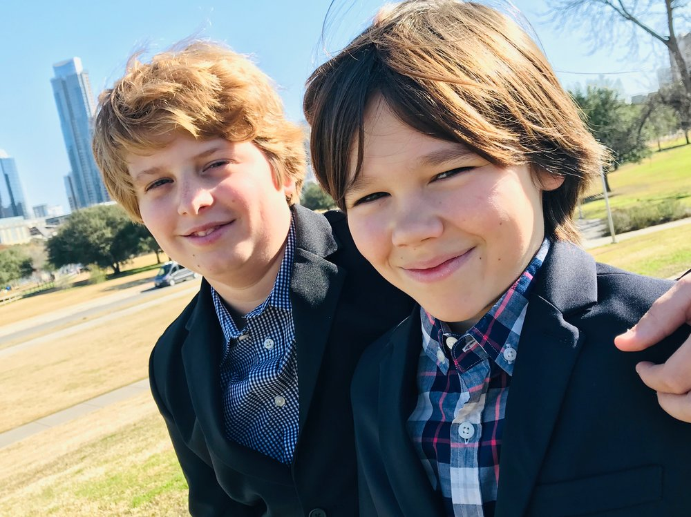 Jett & Cole - 13 yr. old founders and creator of Sweet Tooth Sushi, students at Hill Country Middle School. Jett and Cole were mentored by Alik Mock, founder of Genwise.