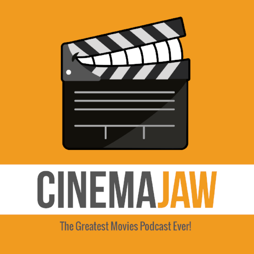 CinemaJaw logo designed by Eliaz Rodriguez