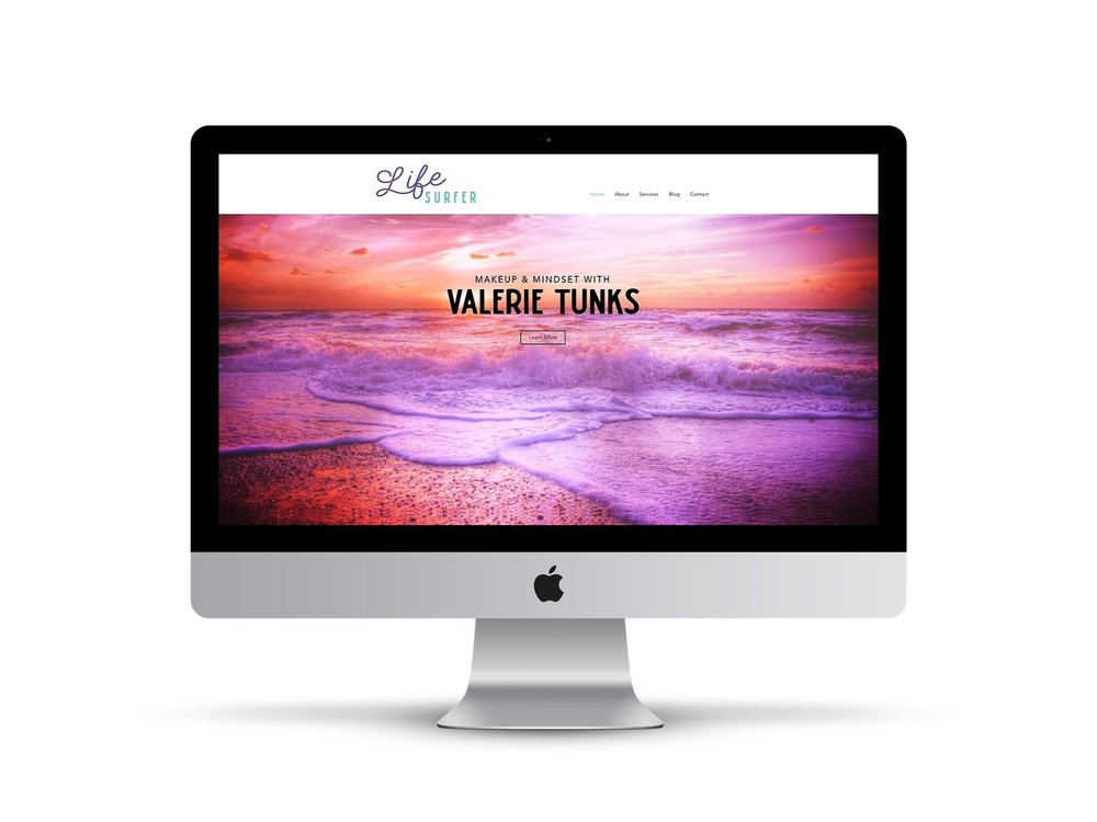 Life Surfer  – Valerie Tunks