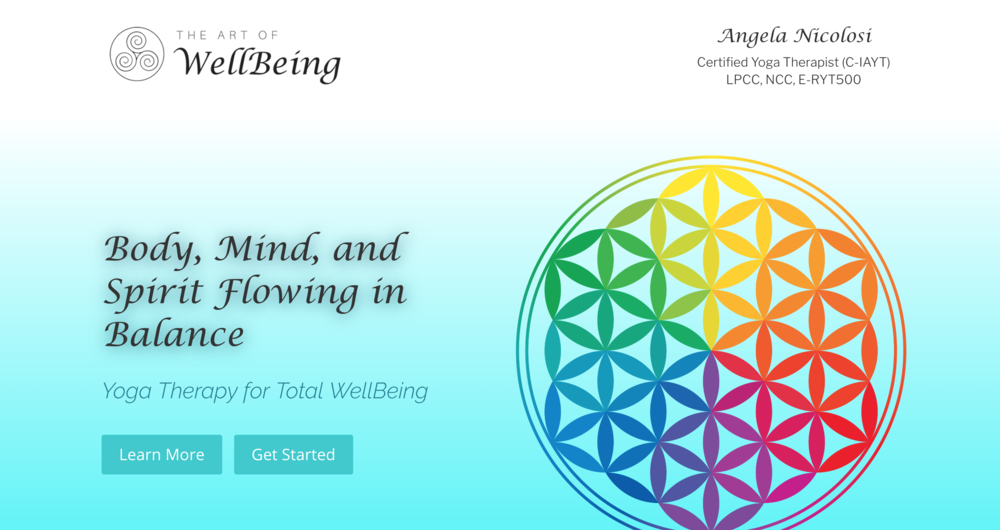 The Art of WellBeing – Angela Nicolosi
