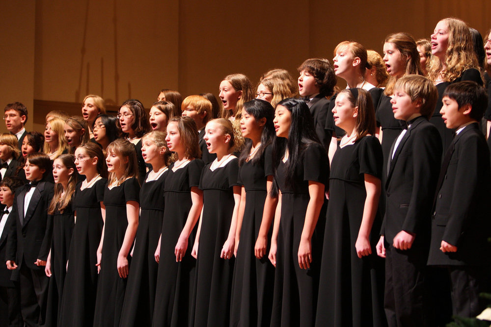 Photo courtesy of Oregon Symphony Pacific Youth Choir