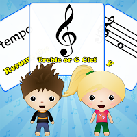 Music Minds: Flashcards With Calvin & Zoey
