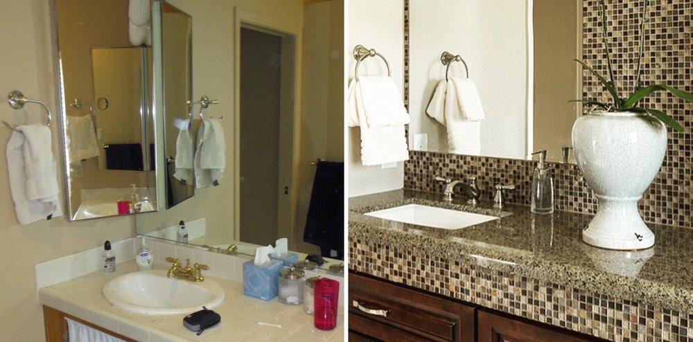 Amy Strang Interiors Master Bathroom Remodel