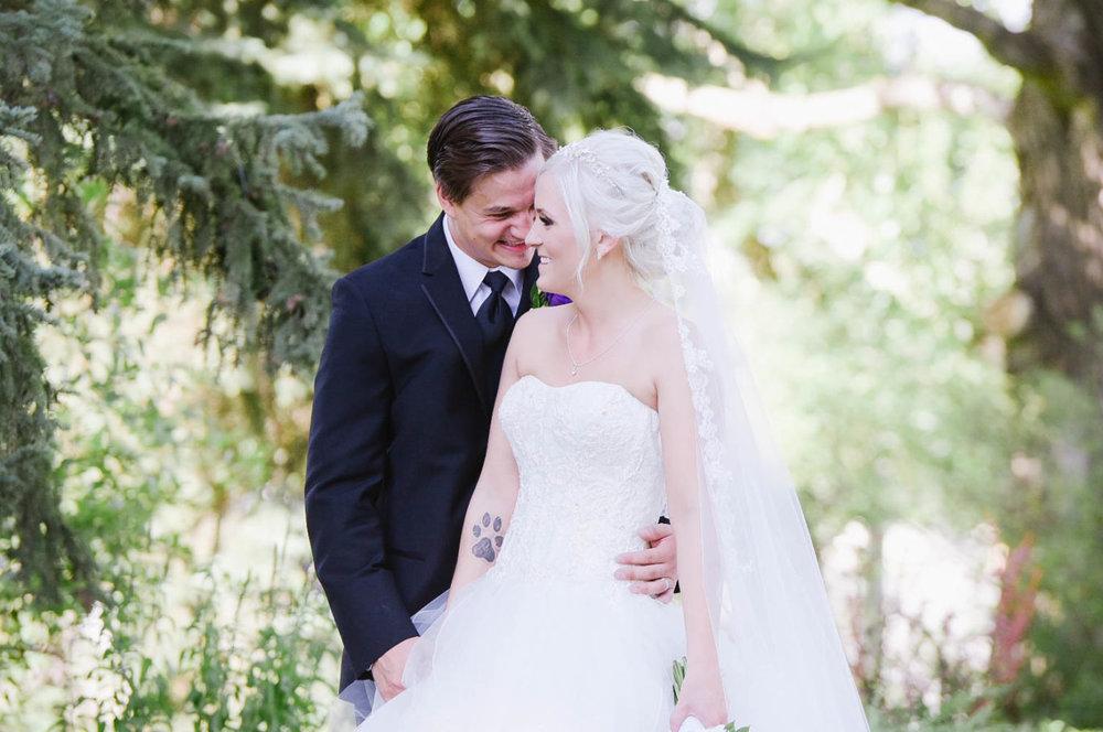 Zach and Riana Wedding in Calgary Alberta