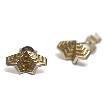 Courtney Jackson chevron fan stud 2 350.jpg