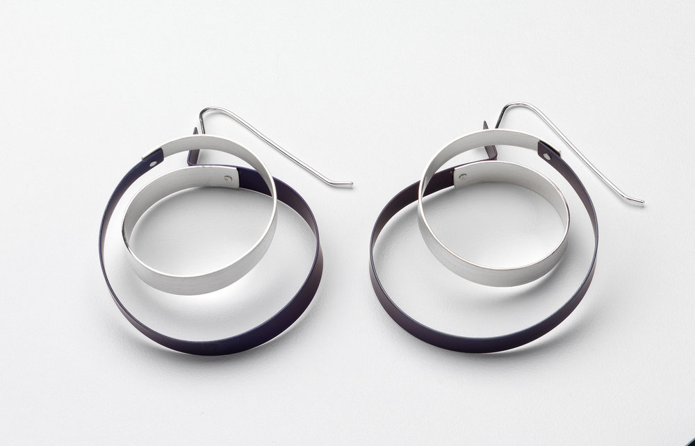 Continuous Loop Earrings Ti and Stg.jpg