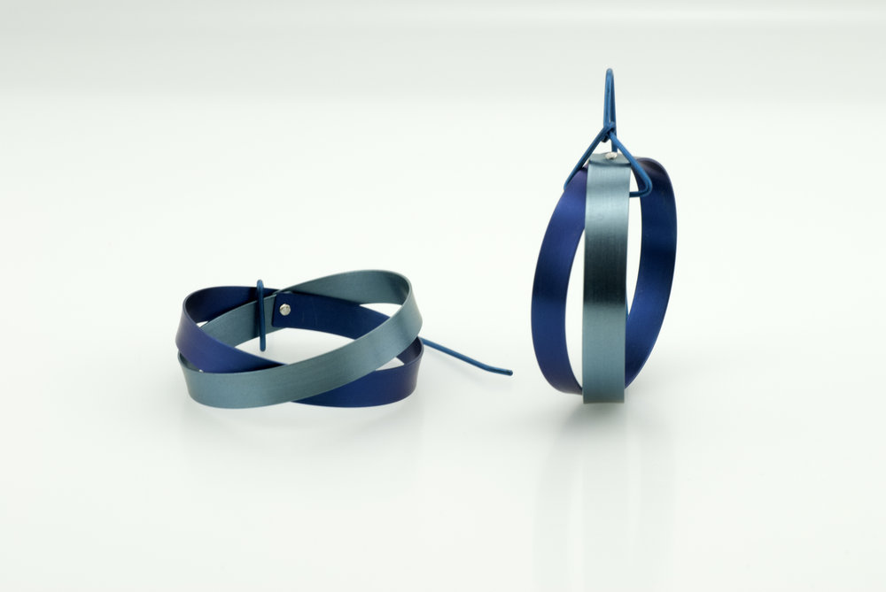 Twisted Earrings in Two Tone Blue.jpg