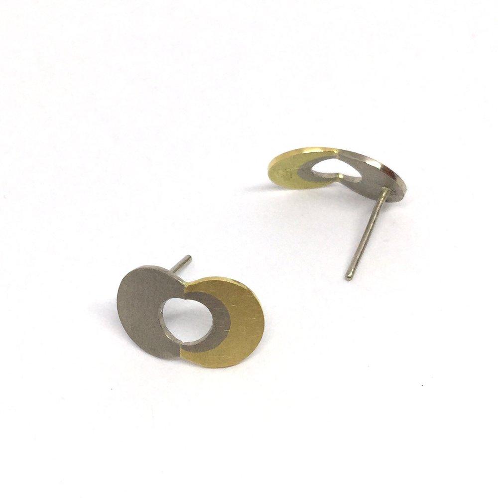 Melanie Ihnen stud earrings