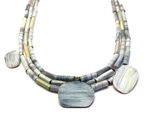 Melinda Young jewellery landlines necklace