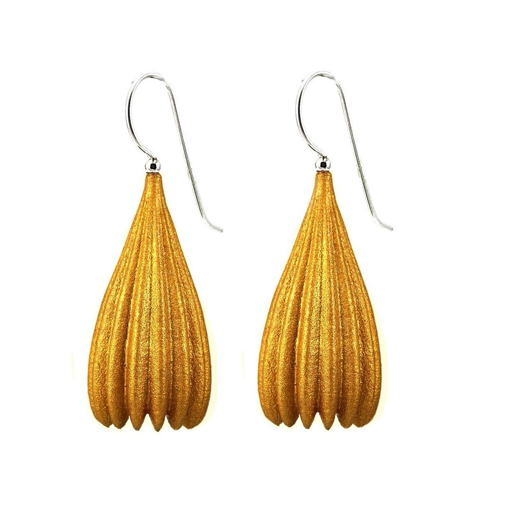 Jenny Fahey sls nylon 3d printed handpainted earrings
