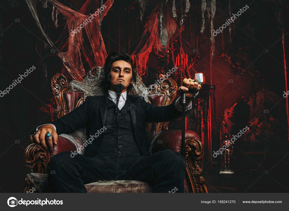 Dark Lord on Throne