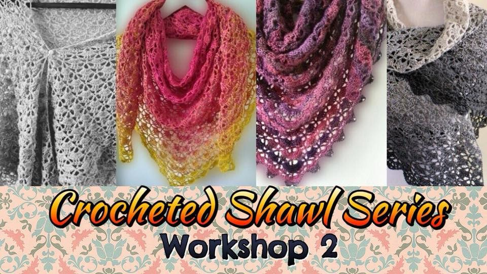 A crochet workshop for beginners where you'll be making a lightweight, multi-colored lacy shawl using multi-strand fingering weight yarn in gradient colors. Learn all the different stiches, and how to work with multi-strand, thin/fingering-weight yarn!   All proceeds to this workshop will be given to Impact HK <3