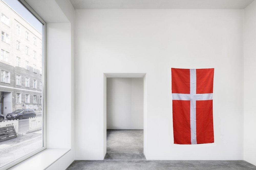 Denmark 2018/2019, Fabric, Resin / 90 x 180 cm