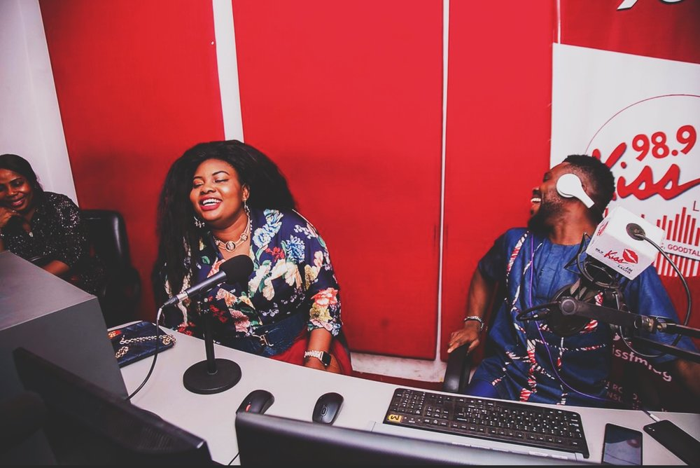 KISSFM LAGOS WITH KHRIS YAN