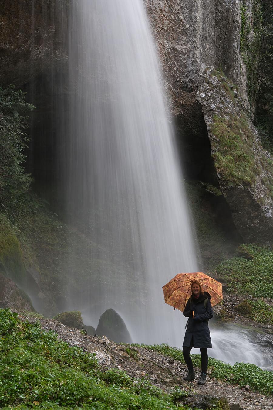 Annemarie in Gorges de Kakouetta