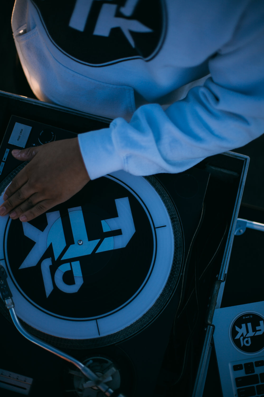It's deeper than a bassline or a playlist. - It is careful curation and masterful execution. DJ FTK is an artist at his turntables. With an excellent ability to read the crowd, he curates the perfect vibes for every venue and occasion.