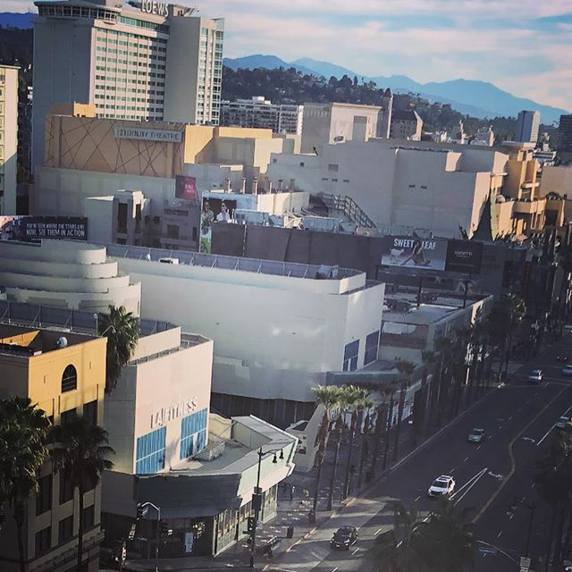 "Did you know that we can see the Dolby Theatre from the office? That's where the #oscars take place on Sunday 24 February 2019! We can't wait to host a viewing party! Hopefully we get to celebrate the Danish movie ""The Guilty""! 🎥 🍿 ⭐️"