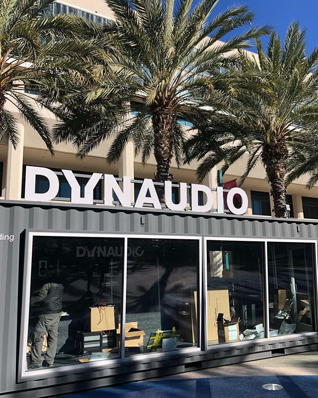 Are you coming to @thenammshow ? Then come visit us and Danish @dynaudio The studio is being set up and starting Thursday there will be acts doing live recordings from the studio!