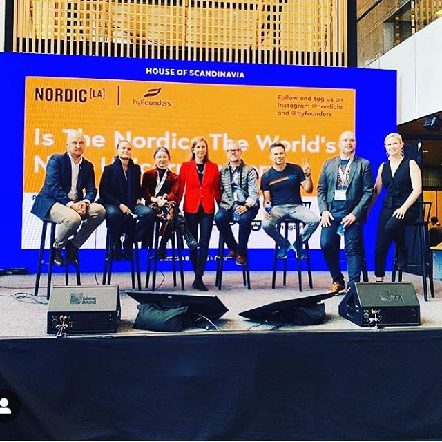 We had a great time discussing Nordic unicorns @sxsw last week together with @flysas and @byfounders - thank you to our wonderful panelists and guests 🦄