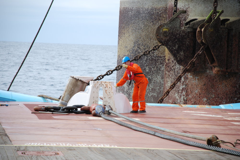 stress i søfart -