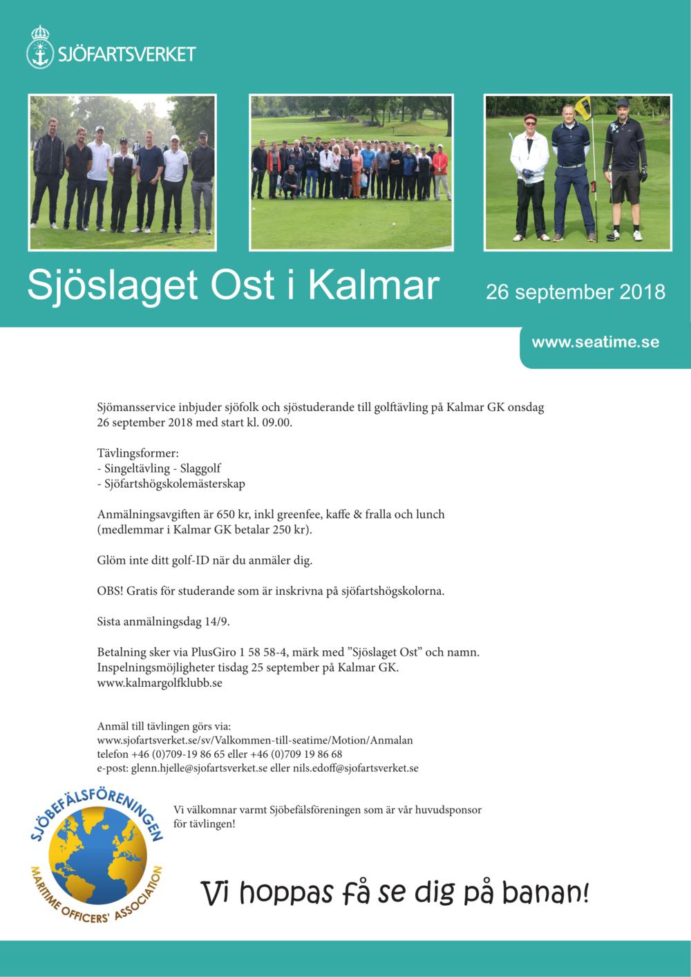 Sjöslaget Ost i Kalmar