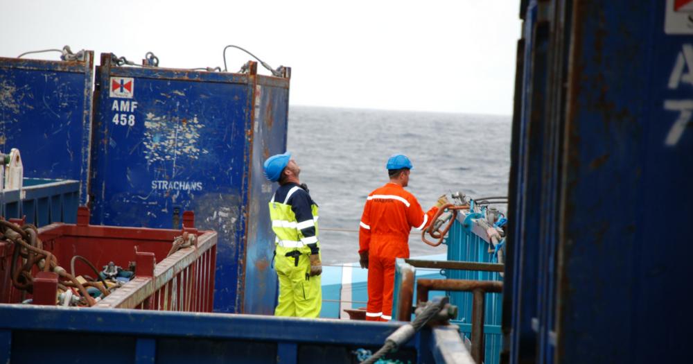 Vigtig information til medarbejdere, der kommer i kontakt med containere