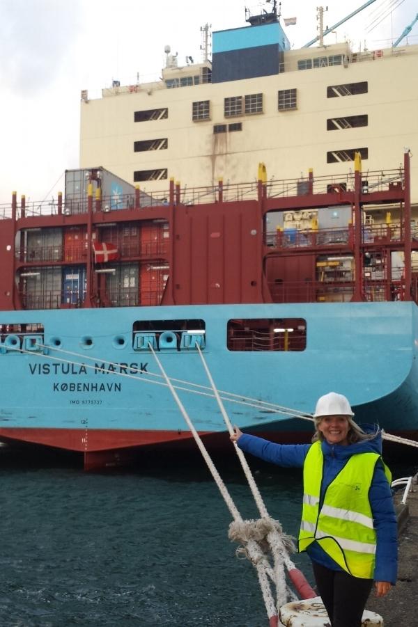 Fra den 1. oktober 2018 er det Belinda, der kommer på skibsbesøg med bl.a. bøger og nyheder i Rotterdams havn.