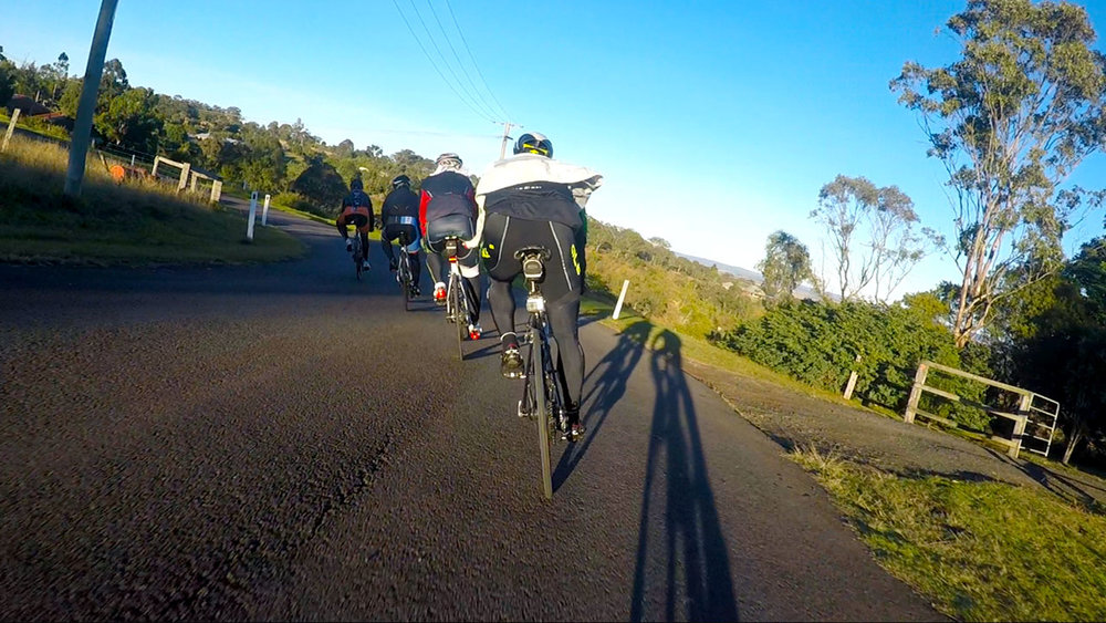 Saturday Shop Ride - 6.30am Year Round From Bikeline32km - All skill levels welcome. A quick loop around Prince Henry Heights, then out to the uni for some laps and finally back into town for a coffee.