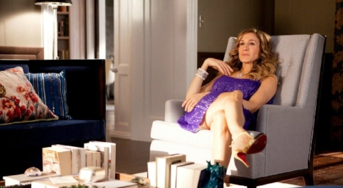 Carrie Bradshaw enjoying her lavish New York apartment. Photo courtesy: TLC Interiors