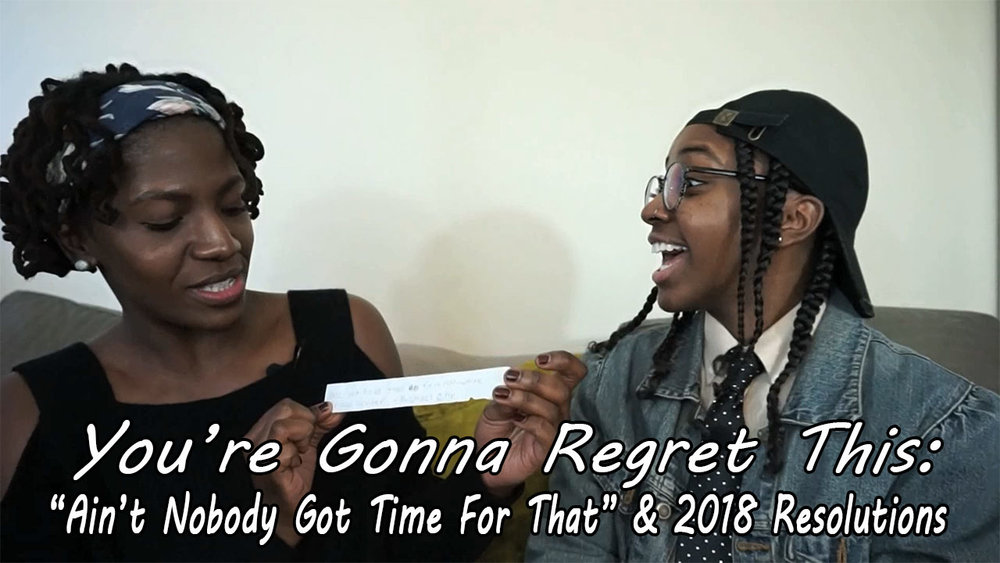 Diandra and Rolanda in an episode of   You're Gonna Regret This