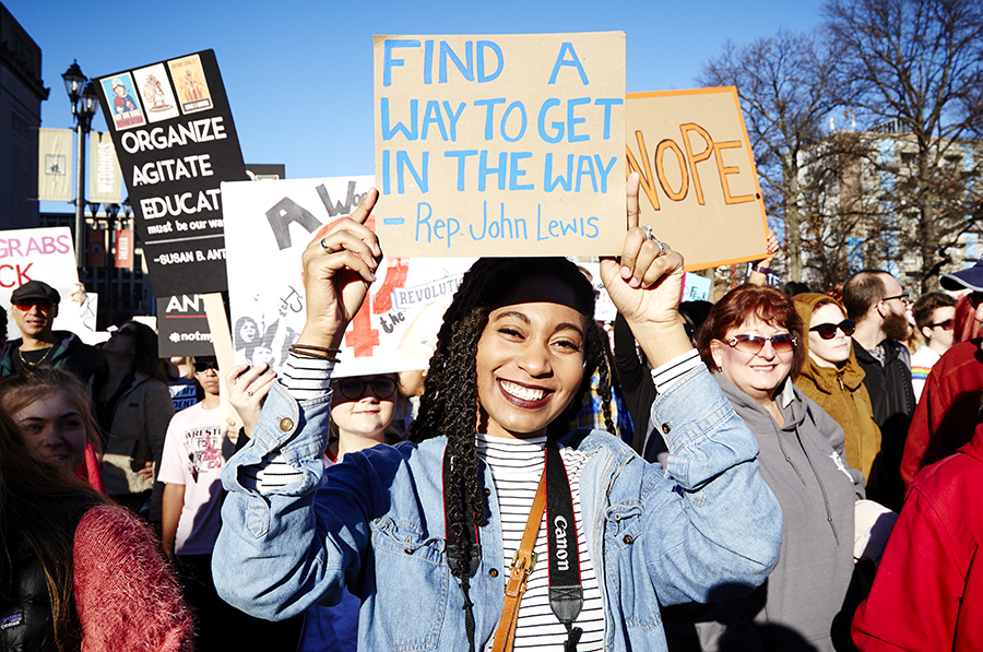 2016 St. Louis Women's March   Photo Credit: Riverfront Times