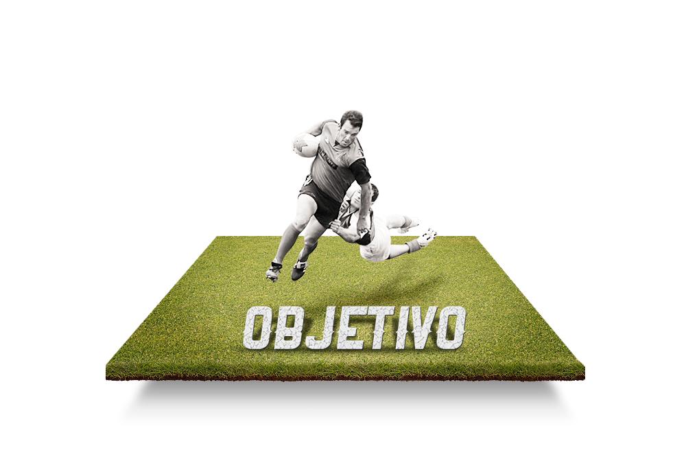 Atravessar o campo até a linha de fundo adversária, passando a bola apenas para trás.