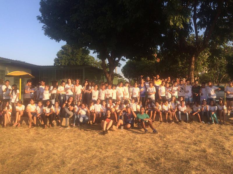 Mais de 200 crianças participaram das oficinas da Rugby Fun Week 2017