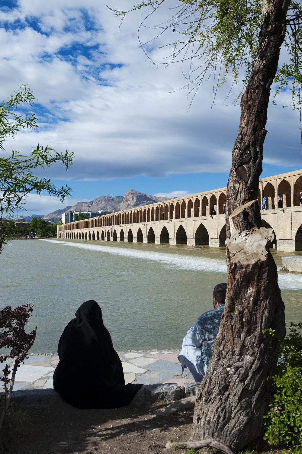 Pol Khajoo (33 bridges) in Isfahan