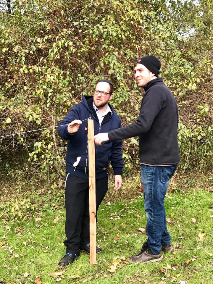 Shabbos in the Woods - Ben Nechmad (Rutgers University) created this program to allow students the opportunity to rejuvinate, meditate and connect over Shabbat in nature.